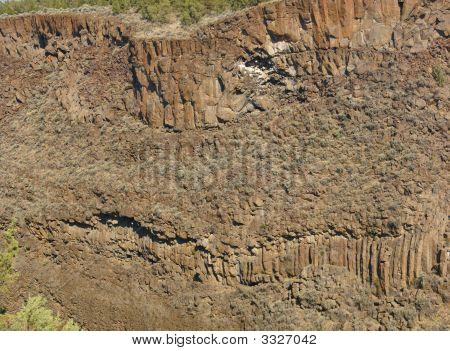 Basalt Cliffs And Talus