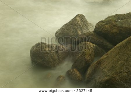 Misty Seawater Splash