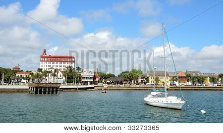Riverfront View of St. Augustine, Florida