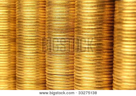Coins From Yellow Metal