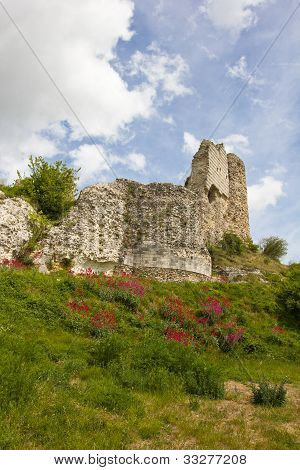 Richard Lion Heart Castle ruins