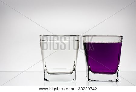 Two Glases With Water