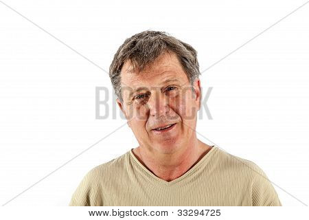 Portrait Of Smart Man