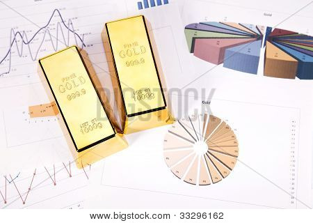 Gold bars on graphs
