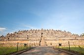 picture of arjuna  - Architecture Borobudur Temple Stupa Ruin in Yogyakarta Indonesia - JPG
