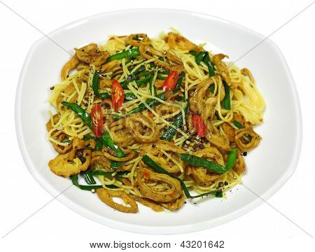 Stir Fried Intestine