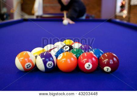 Pool Hall Billiards