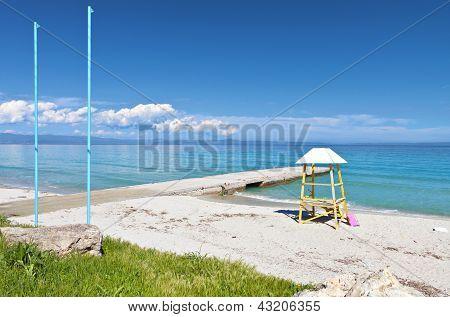 Halkidiki summer resort in Greece