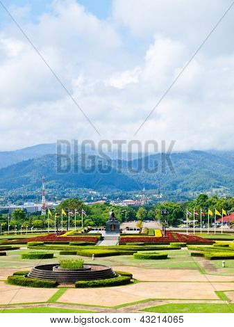 Moutainous View From Mae Fah Luang University, Chiang Rai, Thailand