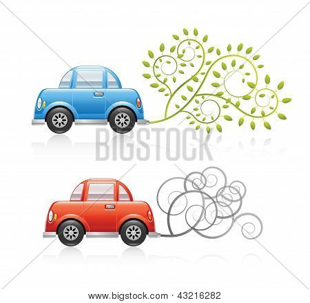Eco & Pollution Car Set