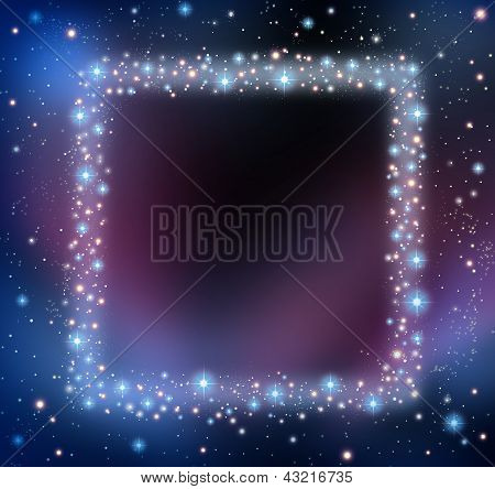 Space Blank Frame