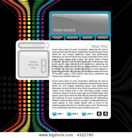 Colorful Website Template