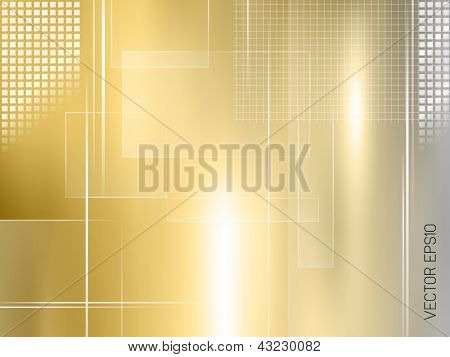 Golden background - abstract luxury design