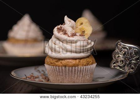 Vegane Banana Cupcake