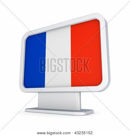 Lightbox with flag of France.