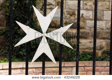 Maltese Cross. Jerusalem. Israel