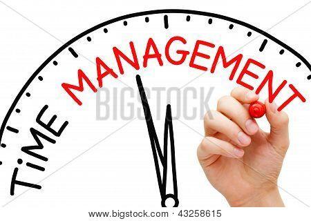Concepto de gestión de tiempo