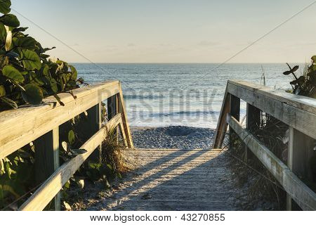 Sunrise at Satellite Beach