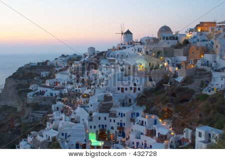 Traditional Greek Village, Oia, Santorini