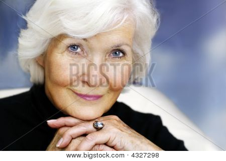 Senior Woman Gracious