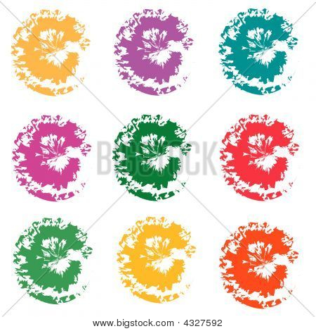 Colorful Splotches