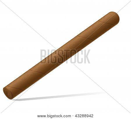 Zigarre Vektor-Illustration