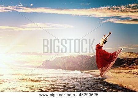 Bailarín de ballet clásico femenino