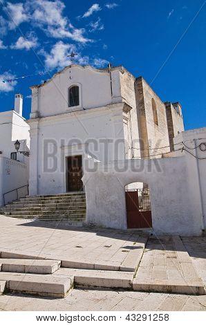 Church of SS. Medici. Massafra. Puglia. Italy.