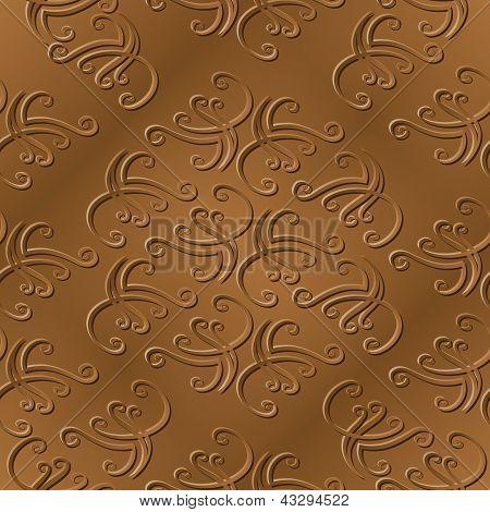 Elegant Sepia Pattern 2
