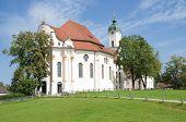 Постер, плакат: Веслава церковь Бавария Германия