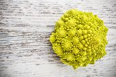 pic of romanesco  - Romanesco broccoli with space for your text - JPG