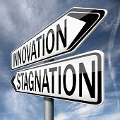 image of stagnation  - innovation or stagnation - JPG