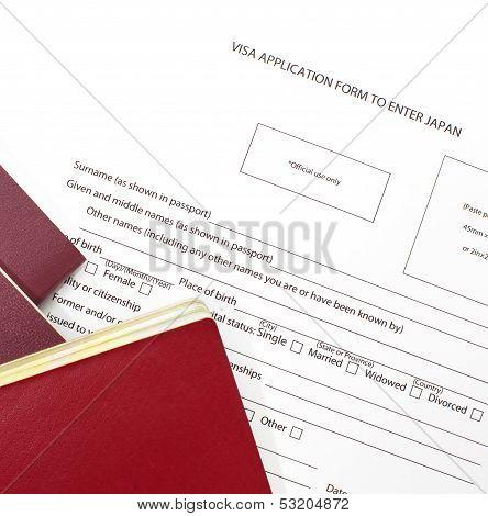 Filling visa