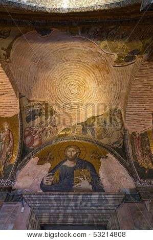Jesus Mosaic in Chora Church