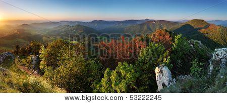 Summer In Slovakia Mountain Fatras