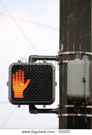 Don't Walk Signal