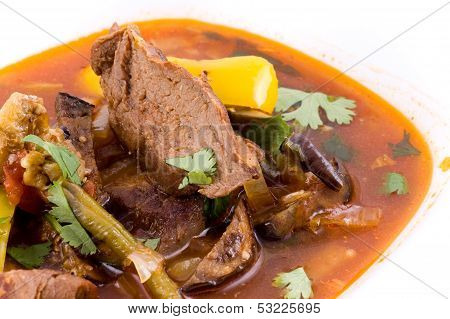 Meat Stewed