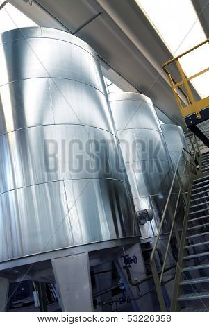 iron tanks in chemical industry