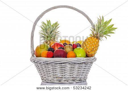 Fruits In Big Basket