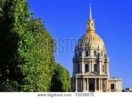 The National Residence Of The Invalids In Paris, France