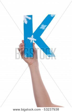 Hand Holding A K