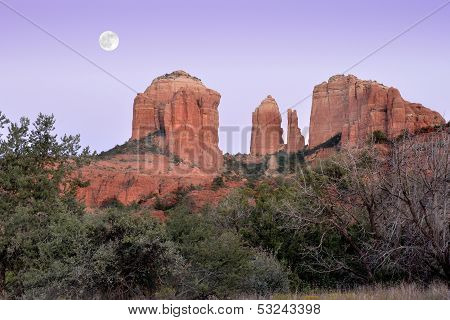 Southwest Moon Carvings