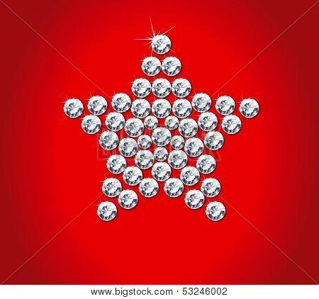 diamond christmas star