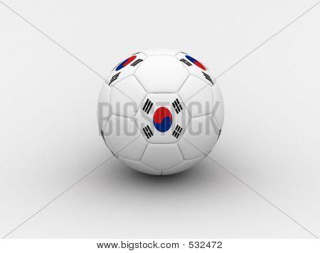 Korea Soccer Ball