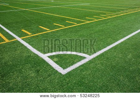Football And Soccer Field