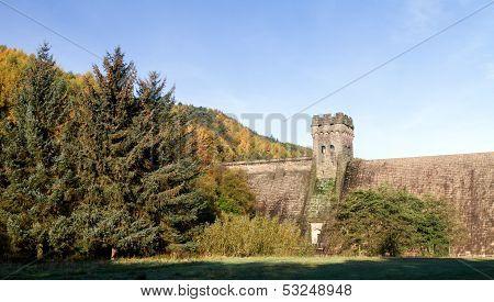 West Tower Of Derwent Dam