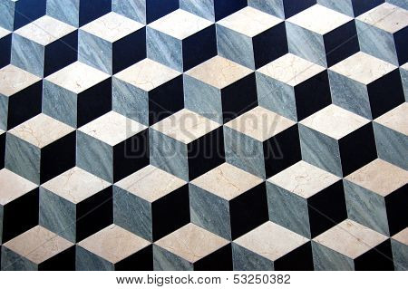 Marble Parquet Floor