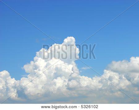 Cumulus Congestus Clouds