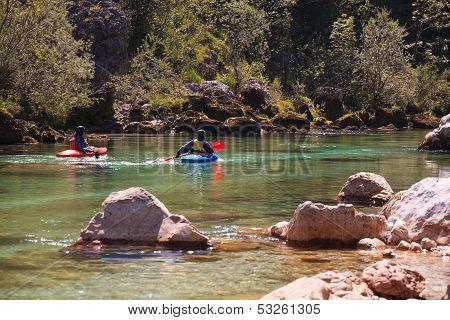 Riverbug On The Soca River, Slovenia