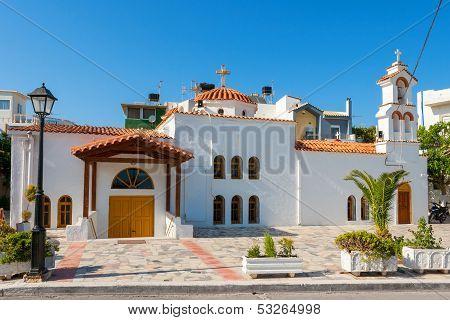 Afendis Christos Church. Ierapetra, Crete, Greece